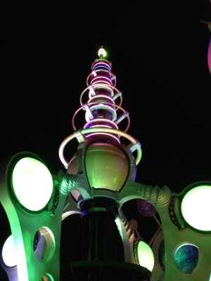 Astro Orbiter center tower