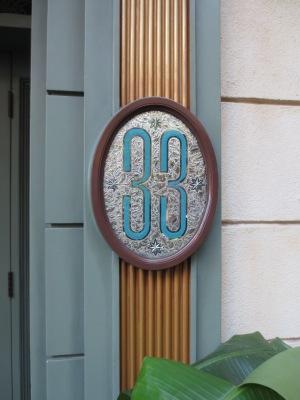 Club 33 plaque