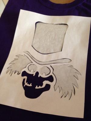 Hatbox stencil 4