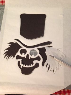 hatbox stencil 6
