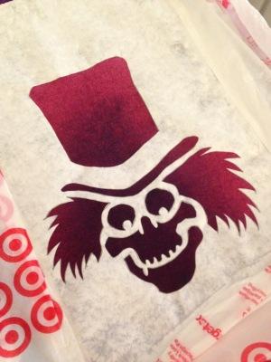 hatbox stencil 9