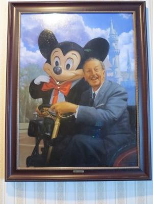 Walt and Mickey portrait