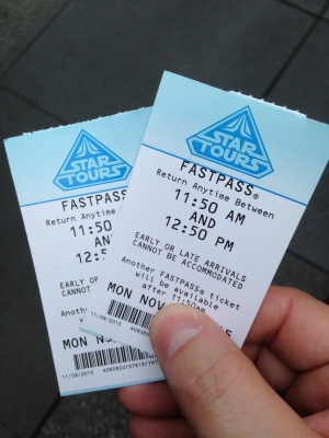 Star Tours FPs