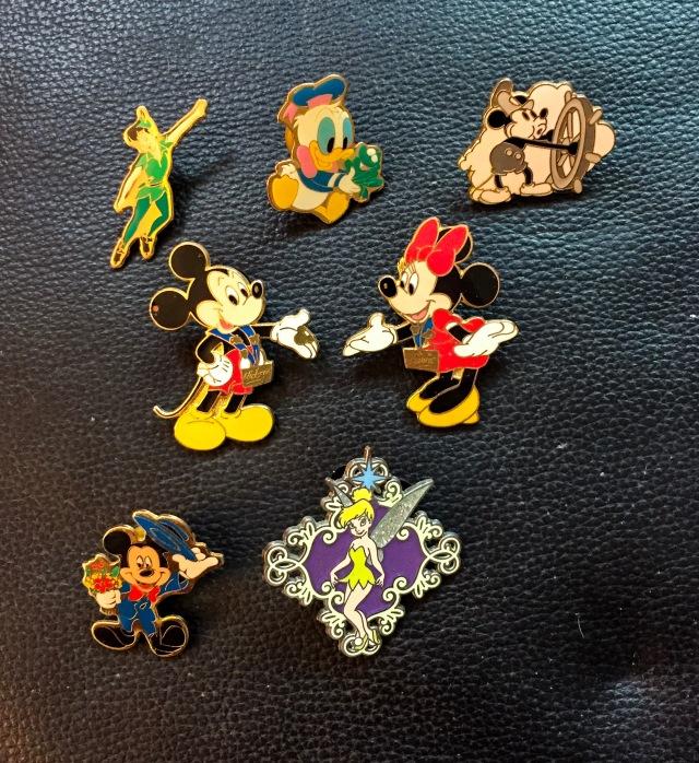 Pins, characters